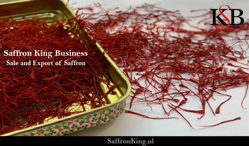Selling and exporting of Afghan saffron