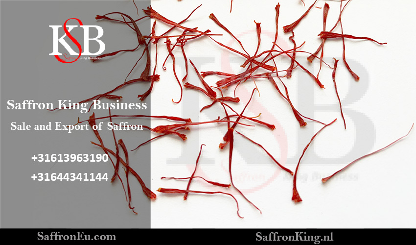 Daily price of exporting saffron