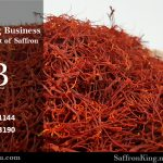 What is the price of saffron this month?