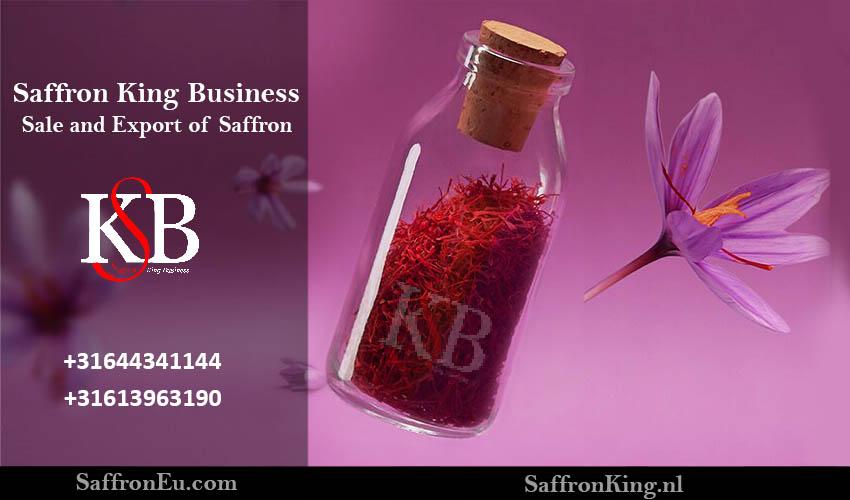 Selling the best saffron