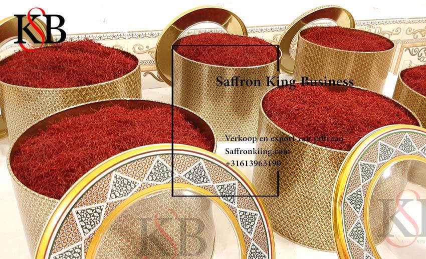 The largest exporter of saffron