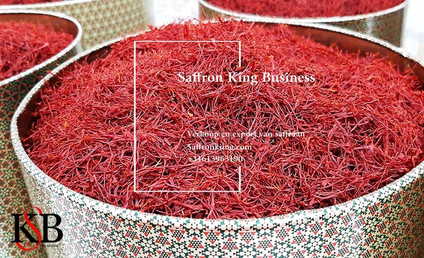 Increased exports of Iranian saffron