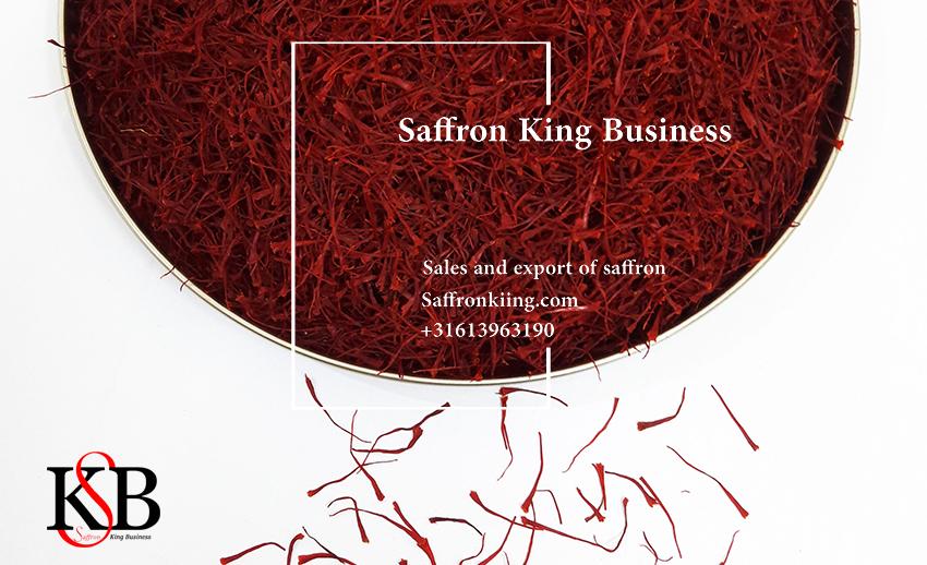 The largest exporters of saffron