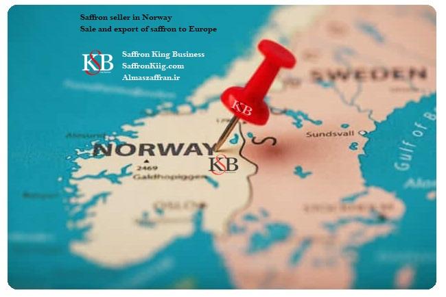 Eksport av safran til Norge