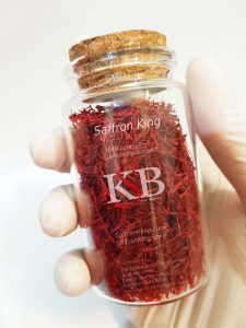 Purchase price of 2 grams of saffron in the Netherlands