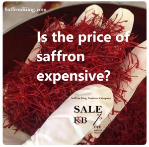 Is the price of saffron expensive?
