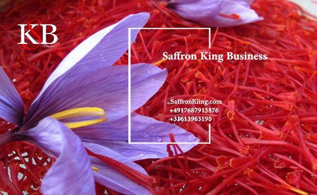 Selling saffron in Iraq