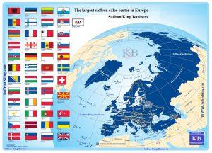 Buy saffron for export in Europe