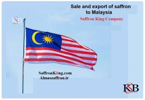 Export of saffron to Malaysia