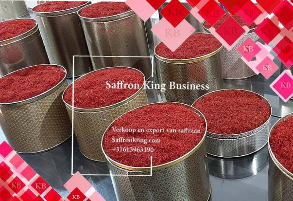 Bulk saffron store in Europe