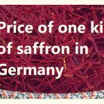 Price of one kilo of saffron in Germany