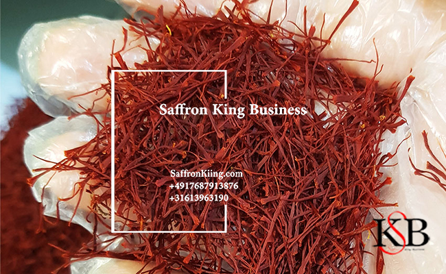 Export of bulk saffron
