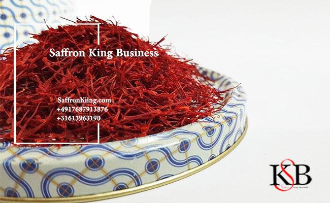 Export of saffron