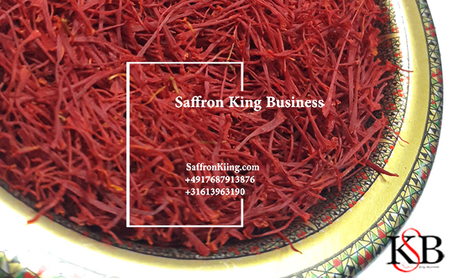 Stages of saffron export to Europe