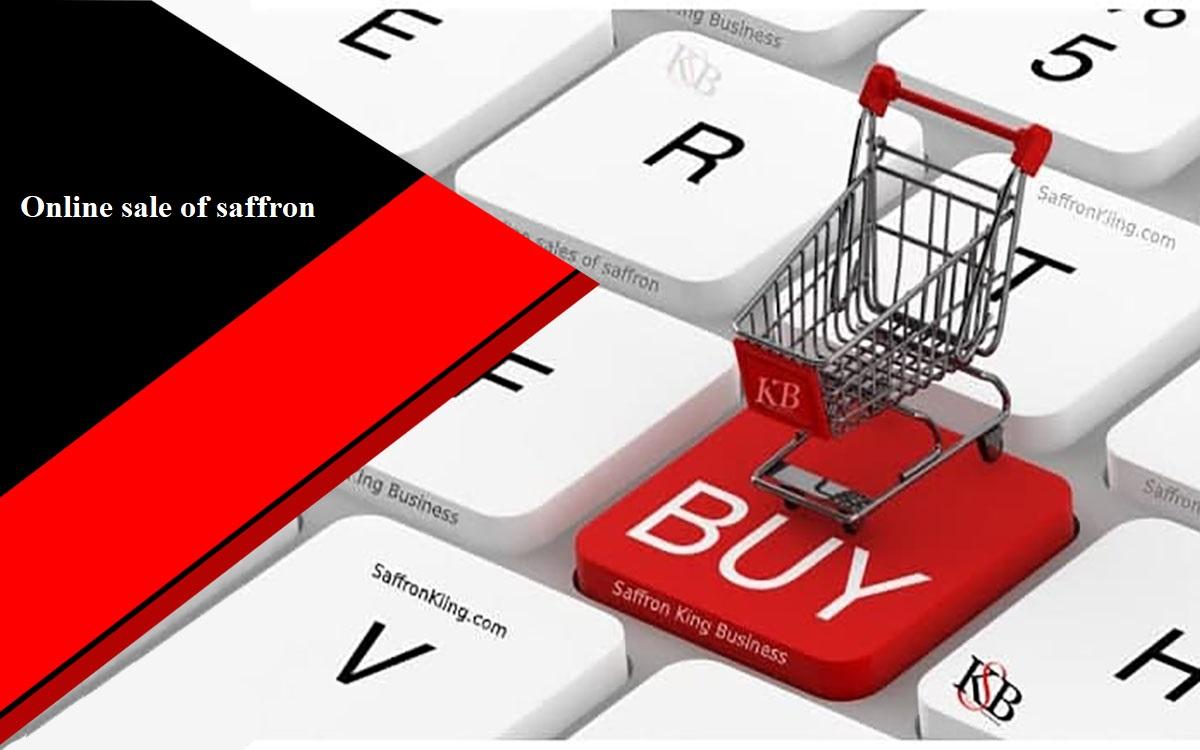 Online sale of saffron