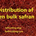 Distribution of bulk saffron