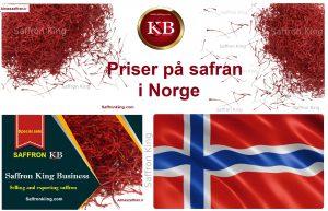 Priser på safran i Norge