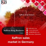 Saffron sales market in Germany and saffron prices