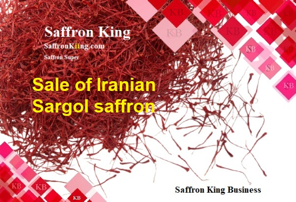 Sale of Iranian Sargol saffron