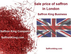 Sale price of saffron in London