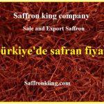 2021 yılında Türkiye'de safran fiyatı