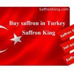 Saffron market in Turkey