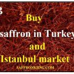 Buy saffron in Turkey and Istanbul market