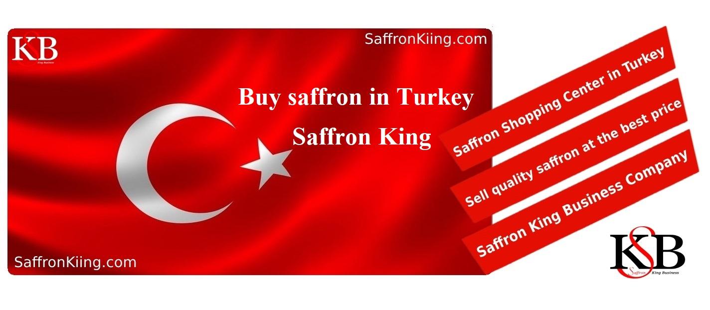 Buy saffron in Turkey