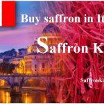 Purchase price of saffron in Italy and sale of pure saffron