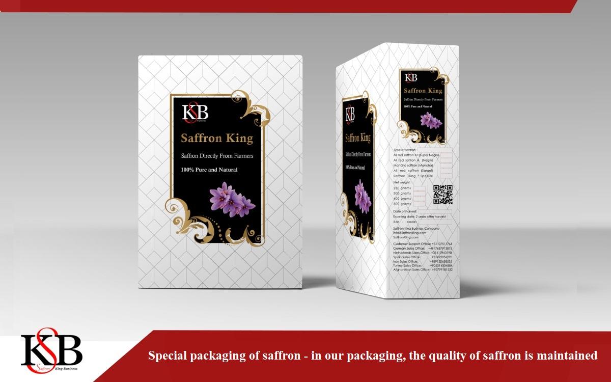 One kg package of saffron