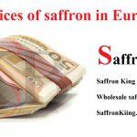 Saffron price updated